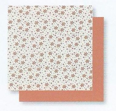 PAPER FOR ORIGAMI WITH FLOWERS 15 x 15 cm
