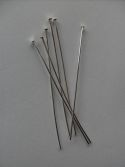 SILVER PLATED HEADPINS