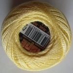 LIGHT YELLOW PEARL COTTON