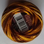 YELLOW BROWN PEARL COTTON