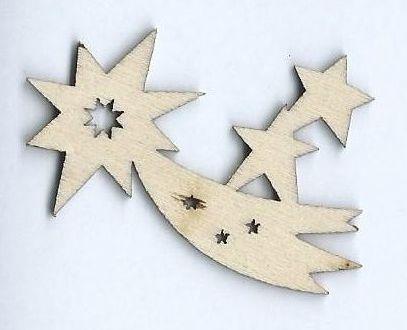 Decorazioni In Legno Natalizie : Hobbistica creativa decorazione natalizia laser in legno