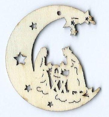 Hobbistica creativa decorazioni in legno - Decorazioni natalizie in legno ...