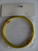 YELLOW ALUMINIUM WIRE
