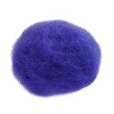 BLUE CARDED WOOL