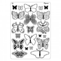 MULTI GRID N° 31 BUTTERFLIES