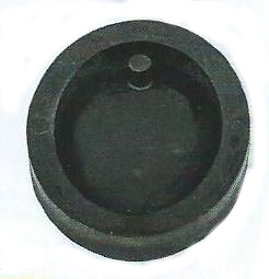 OVAL PENDANT DIE WITH HOLE