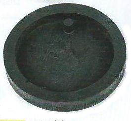 CIRCULAR PENDANT DIE WITH HOLE
